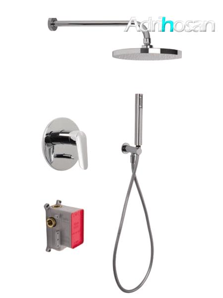 Conjunto ducha con 2 salidas Spot design by Fima italia
