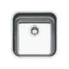 Fregadero acero inoxidable Klassica 4040 bajo encimera. Un fregadero para cualquier mueble de cocina fabricado con acero inoxidable de primera calidad.