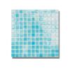 Gresite para piscinas tesela 2,5x2,5 cm malla 30x30 cm Azul claro. Un gresite en tonalidades azules que hará tu piscina única. Gran calidad. En Stock.