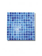 Gresite para piscinas tesela 2,5x2,5 cm malla 30x30 cm Azul oscuro. Un gresite en tonalidades azules que hará tu piscina única. Gran calidad. En Stock.