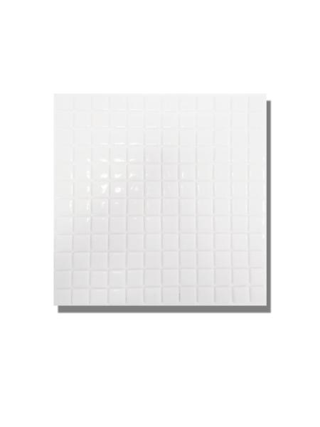 Gresite para piscinas tesela 2,5x2,5 cm malla 30x30 cm blanco. Un gresite en tonalidades blancas que hará tu piscina única. Gran calidad. En Stock.