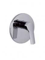 Mezclador empotrado de ducha Serie 4 design by Fima italia. Una grifería empotrada de diseño moderno y actual, muy funcional.