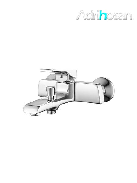 Monomando bañera luxor cromo brillo c/accesorios