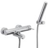 Monomando bañera Spilo Up design by Fima italia. Una grifería de diseño curvo muy versatil y elegante del prestigioso fabricante italiano Fima