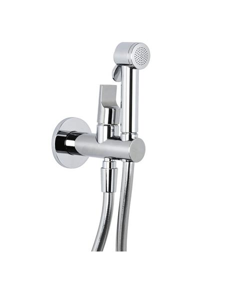 Monomando bide a pared agua fría y caliente Fima Italia. Una gran solución de grifo para instalar al lado del inodoro para una perfecta higiene.
