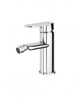 Monomando bide Menfis cromo brillo. Una grifería de baño sencilla y funcional pero con un diseño verdaderamente increíble.
