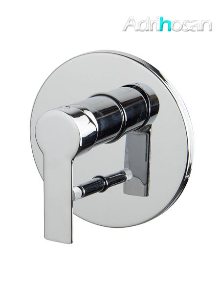 Mezclador empotrado con desviador 2 salidas Mast design by Fima italia