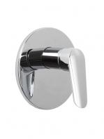 Mezclador empotrado de ducha Spot design by Fima italia. Una grifería empotrada de diseño moderno y actual, muy funcional.
