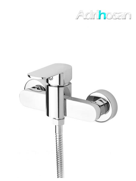 Monomando ducha Guiza cromo brillo