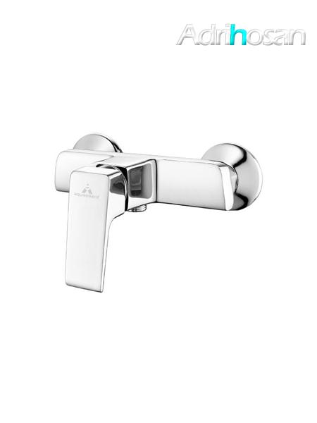 Monomando ducha luxor cromo brillo c/accesorios