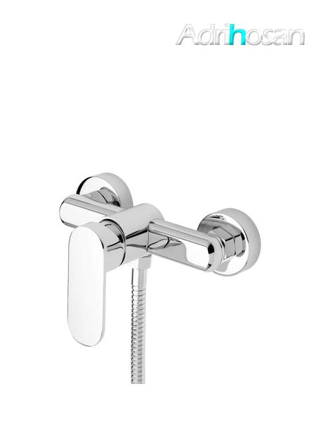 Monomando ducha Menfis cromo brillo