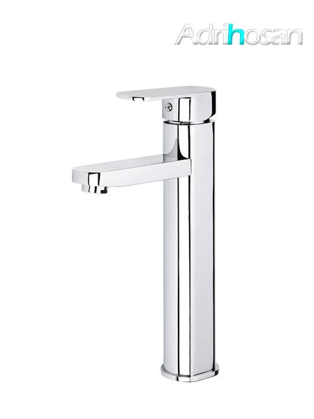 Monomando lavabo alto Guiza cromo brillo
