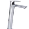 Monomando lavabo alto Serie 4 cromo design by Fima italia. Grifo monomando fabricado con toda la calidad italiana, sencillez y funcionalidad italiana.