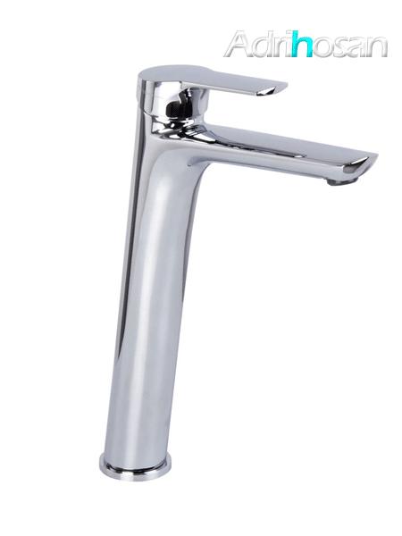 Monomando lavabo alto Serie 4 cromo design by Fima italia