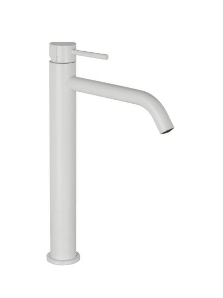 Monomando lavabo alto Spilo Up design by Fima italia. Una grifería de diseño curvo muy versatil y elegante del prestigioso fabricante italiano Fima