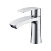 Monomando lavabo Dendera cromo brillo. La grifería Dendera se caracteriza por las suaves curvas que delimitan su contorno.