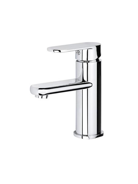 Monomando lavabo Menfis cromo brillo. Una grifería de baño sencilla y funcional pero con un diseño verdaderamente increíble.
