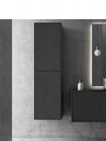 Mueble de baño suspendido bloc de Fiora 800 x 484 x 450 cm. Un mobiliario con lavabo con personalidad propia inspirado en los grandes bloques de material.