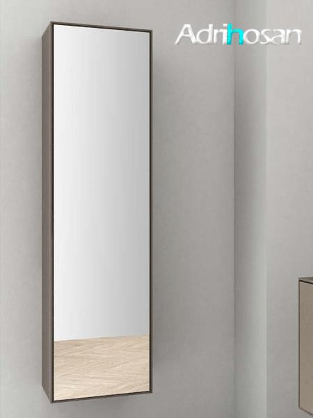 Columna de baño suspendida bloc de Fiora c/espejo 1500 x 420 x 341 cm