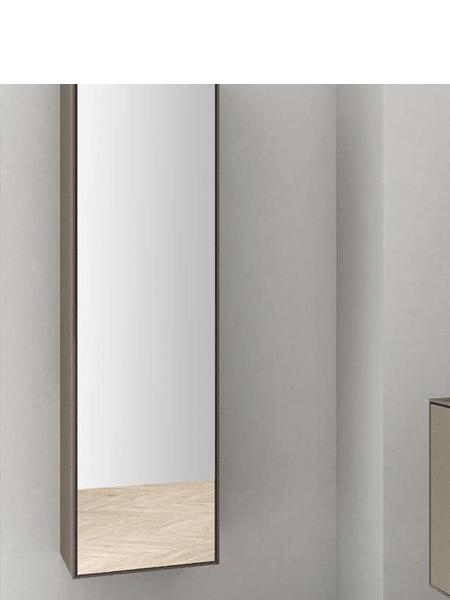Muebles De Bano Columna.Columna De Bano Suspendida Bloc De Fiora C Espejo 1500 X 420 X 341 Cm