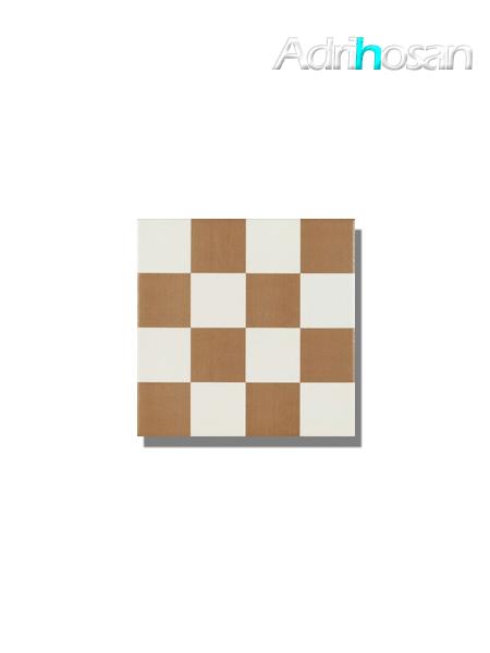 Pavimento imitación hidráulico Antigua chess beige 20x20 cm (1 m2/cj)