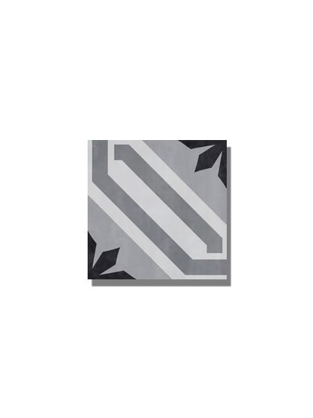 Pavimento imitación hidráulico barraca cardena 20x20 cm. Diseños del pasado con tecnología del presente, azulejo para paredes y suelos vintage.