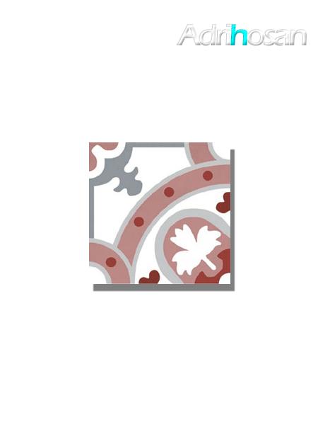 Pavimento imitación hidráulico barraca Cosmos 20x20 cm (1 m2/cj)