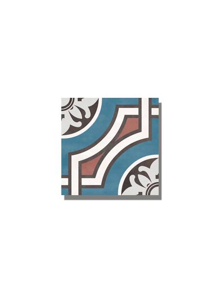 Pavimento imitación hidráulico barraca losar 20x20 cm. Diseños del pasado con tecnología del presente, azulejo para paredes y suelos vintage.