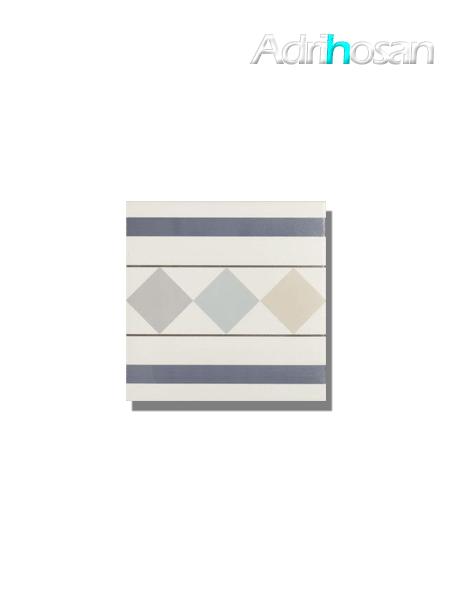 Pavimento imitación hidráulico Classic cenefa 20x20 cm (pieza)