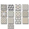 Pavimento imitación hidráulico Classic mix 20x20 cm. Diseños del pasado con tecnología del presente, azulejo para paredes y suelos vintage.