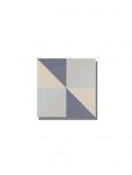 Pavimento imitación hidráulico Classic triangulo 20x20 cm. Diseños del pasado con tecnología del presente, azulejo para paredes y suelos vintage.