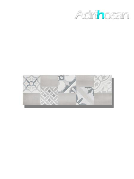 Revestimiento decor Moma pearl mate 20x60 cm (1.08 m2/cj)