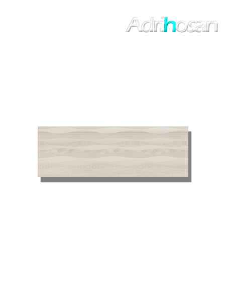 Revestimiento decorado pleasure beige brillo 20x60 cm (1.08 m2/cj)