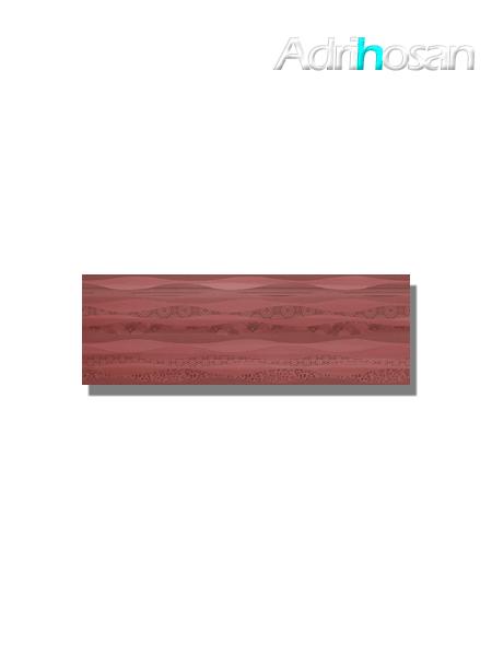 Revestimiento decorado pleasure cherry brillo 20x60 cm (1.08 m2/cj)