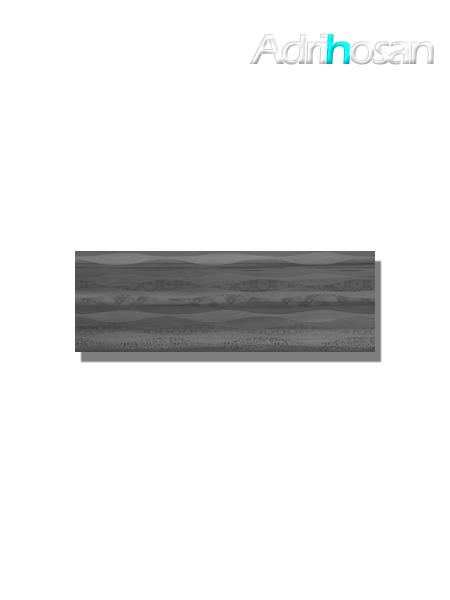 Revestimiento decorado pleasure grey brillo 20x60 cm (1.08 m2/cj)