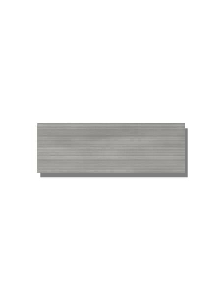 Revestimiento Moma grey mate 20x60 cm. Una serie de azulejo para paredes imitación cemento altamente destonificado con decorado hidráulico.