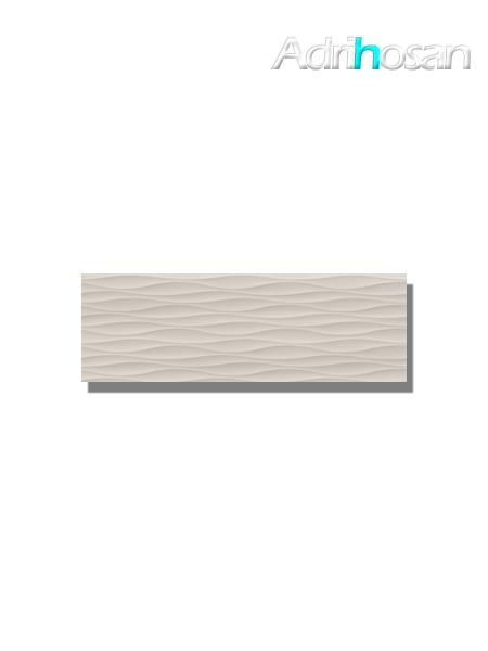Revestimiento decorado noa beige brillo 20x60 cm (1.08 m2/cj)