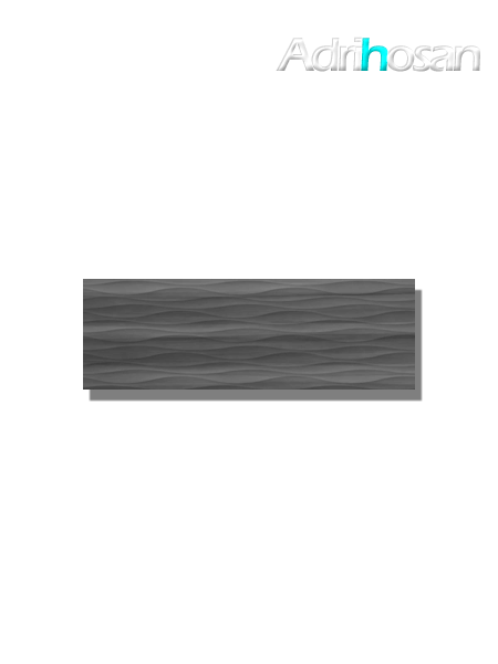 Revestimiento decorado noa grey brillo 20x60 cm (1.08 m2/cj)