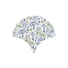 Azulejo escama de pez decor 10 15x14,2 cm pasta blanca. Un revestimiento de pasta blanca de alta calidad para decoraciones estilo vintage o retro.
