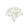 Azulejo escama de pez decor 7 15x14,2 cm pasta blanca. Un revestimiento de pasta blanca de alta calidad para decoraciones estilo vintage o retro.