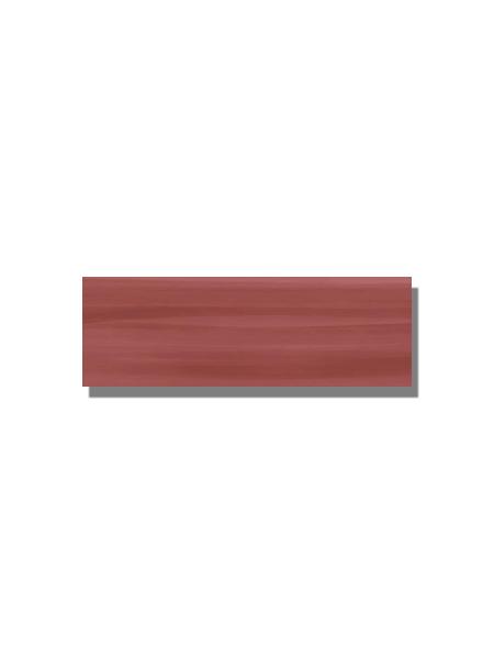 Revestimiento Pleasure cherry brillo 20 x 60 cm. Una serie de azulejos para paredes de colores cálidos para cualquier diseño de tu cocina o baño.