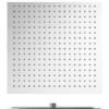 Rociador de ducha cuadrado acero inoxidable Adr. disponible en cuatro medidas 20 cm, 25 cm, 30 cm y 40 cm.