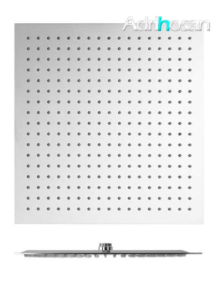 Rociador de ducha cuadrado acero inoxidable Adr (20-25-30-40 cm)