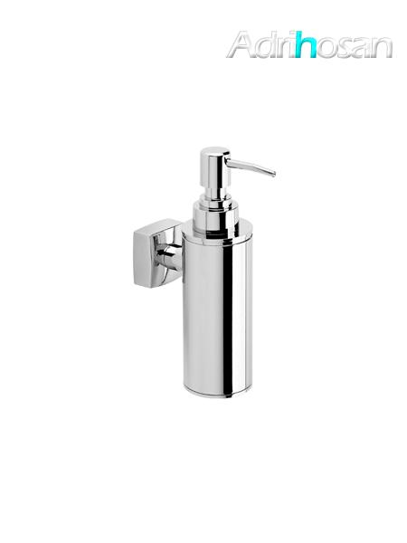 Dosificador metálico de jabón a pared serie Bilbao- Accesorio de baño