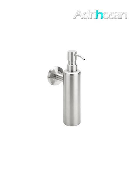 Dosificador metálico de jabón a pared serie Vizcaya - Accesorio de baño
