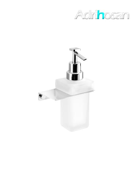 Dosificador de jabón a pared serie Castellón- Accesorio de baño
