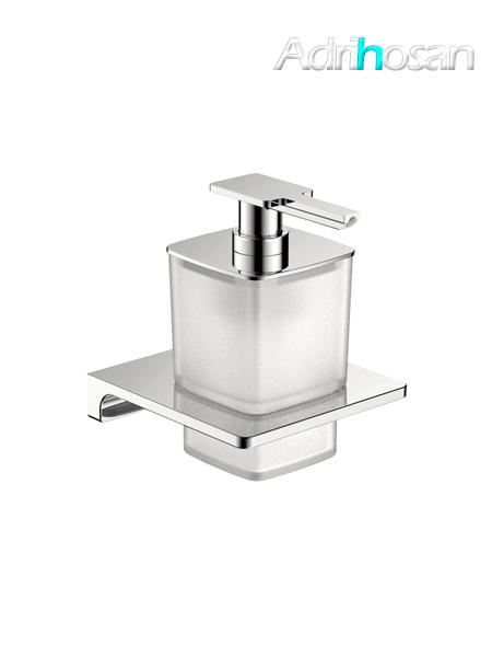 Dosificador de jabón a pared serie Líria- Accesorio de baño
