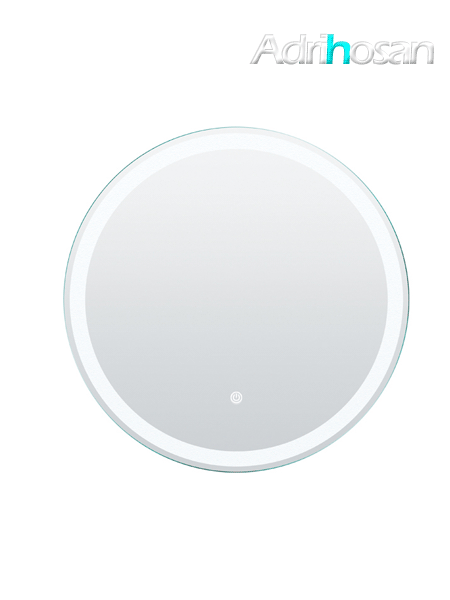 Espejo con iluminación led redondo diámetro 80 cm