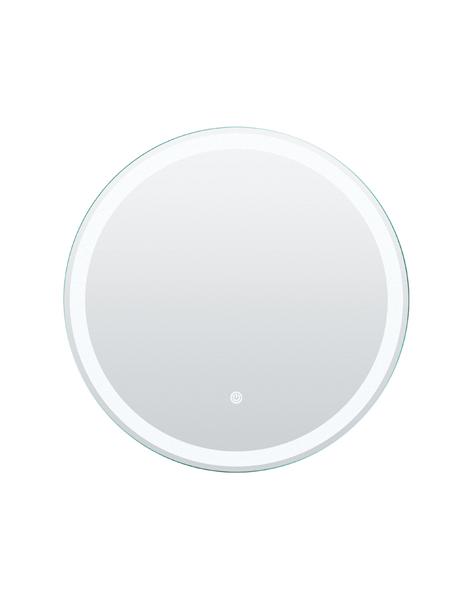 Espejo con iluminación led redondo diámetro 60 cm. Espejo fabricado en España con marco de aluminio y luces LED de 800 lúmenes