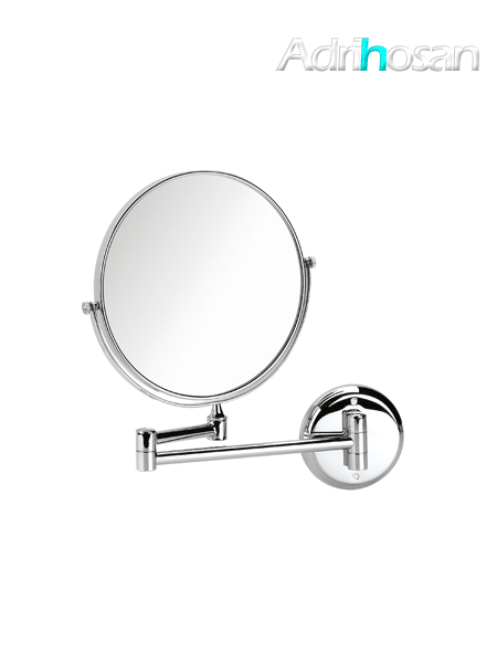 Espejo cromado de aumento x3 barra articulada